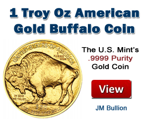 1 Ounce Gold Buffalo Coins