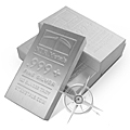 NTR 100 Ounce Silver Bars
