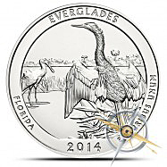 5 Oz ATB Everglades Silver Coin