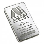 A-Mark 10 Ounce Silver Bar