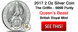 Griffin Queen's Beast 2 Oz Silver Coin