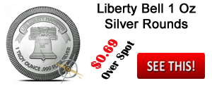Liberty Bell Silver Round