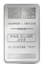 Picture of NTR 10 Ounce Silver Bar