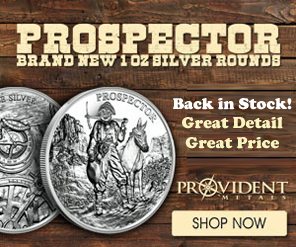 Prospector Silver Rounds