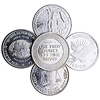 1 Ounce Silver Rounds