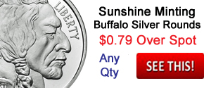 Sunshine Buffalo Silver Rounds