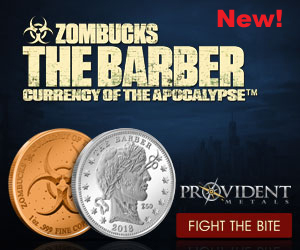 Zombucks Barber Ad