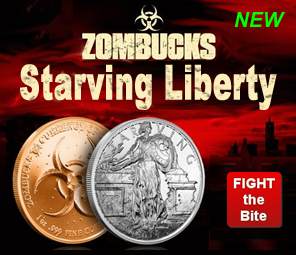 Zombucks Silver Rounds
